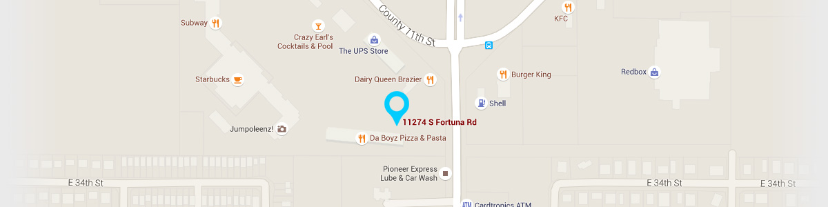 Directions to our Yuma Office