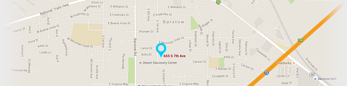 Directions to our Barstow Office